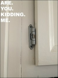 How To Fix Hinges On Kitchen Cupboards