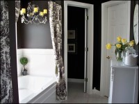 Grey Bathroom Decor Ideas. yellow bathroom decorating ...