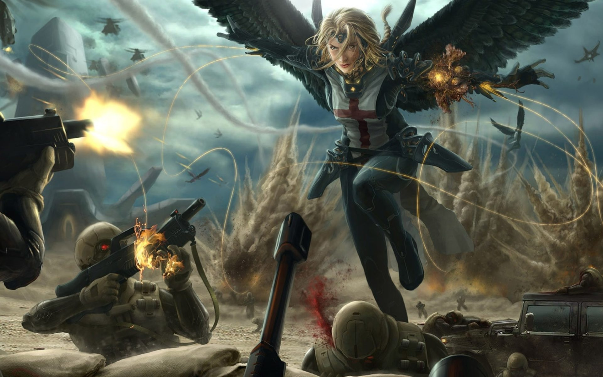 How To Get Old Iphone Wallpapers Back Angels Women Battle Angel Draw 2560x1920 Artwallpaperhi