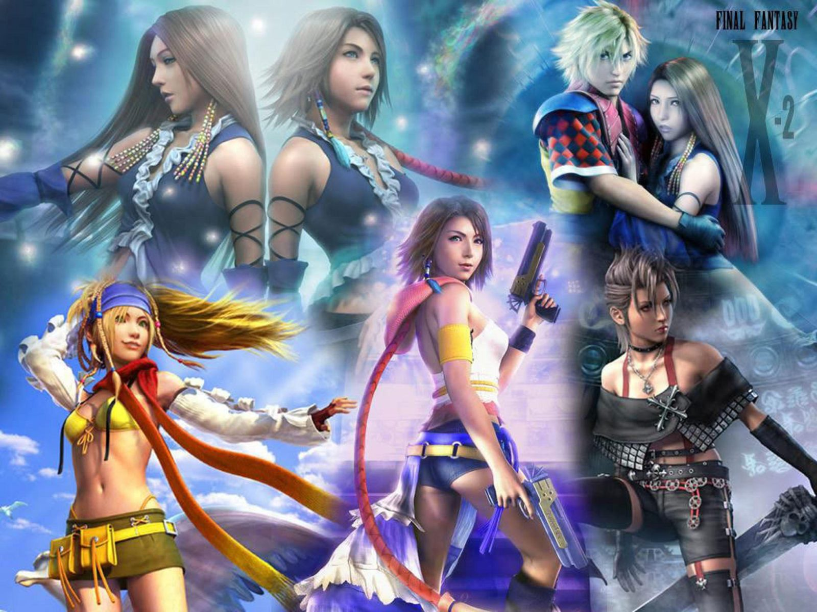 Animated Dragon Wallpaper Free Final Fantasy X 2 Series Yuna Games Video Hd Wallpaper
