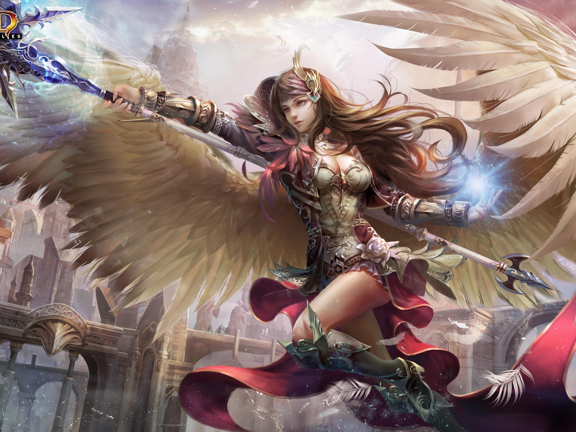 Japn Girl Sword Wallpaper Hcd Game Supplies Avenging Angel Wallpaper Hd 2560x1600