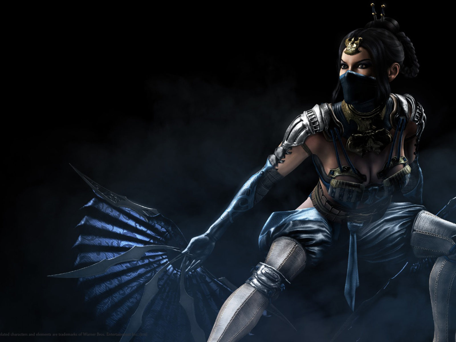 1920x1080 Fantasy Girl Wallpaper Mortal Kombat X Trailer Reveals Kitana And Kung La Yrzp
