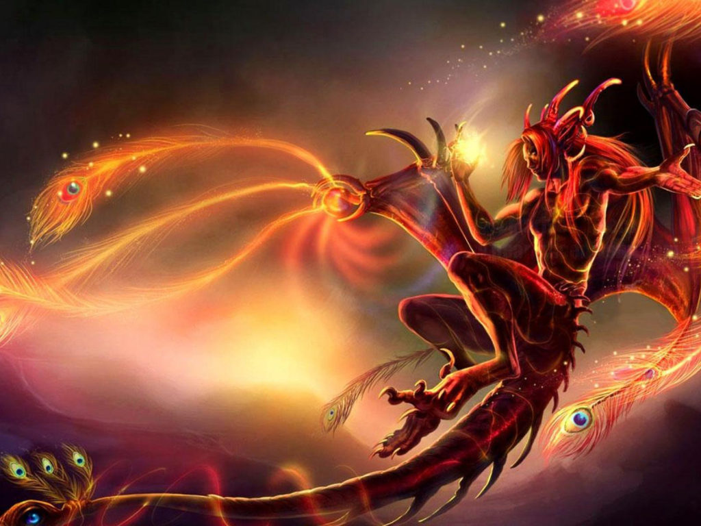 Wallpaper Hd For Mobile Free Download Girl Red Creature Dark Cgi Devil Hell Fantasy Angel Wings