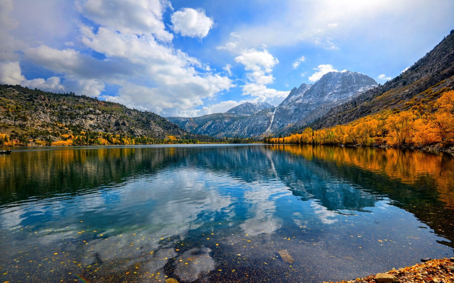 Windows 10 Wallpapers Hd Fall Autumn Lake Reflections Wallpapers13 Com