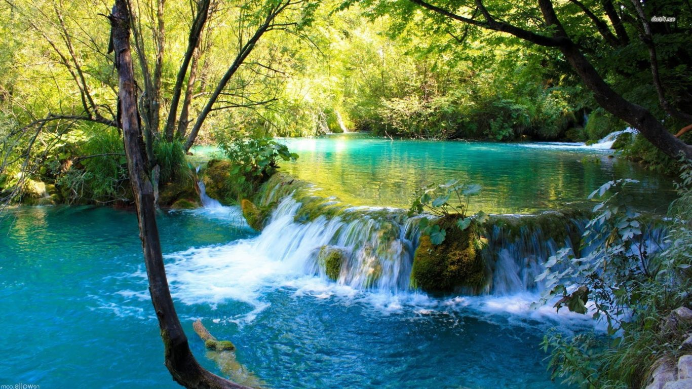 Natural Falls Wallpaper Free Download Beautiful Place To See Plitvice Lake National Park