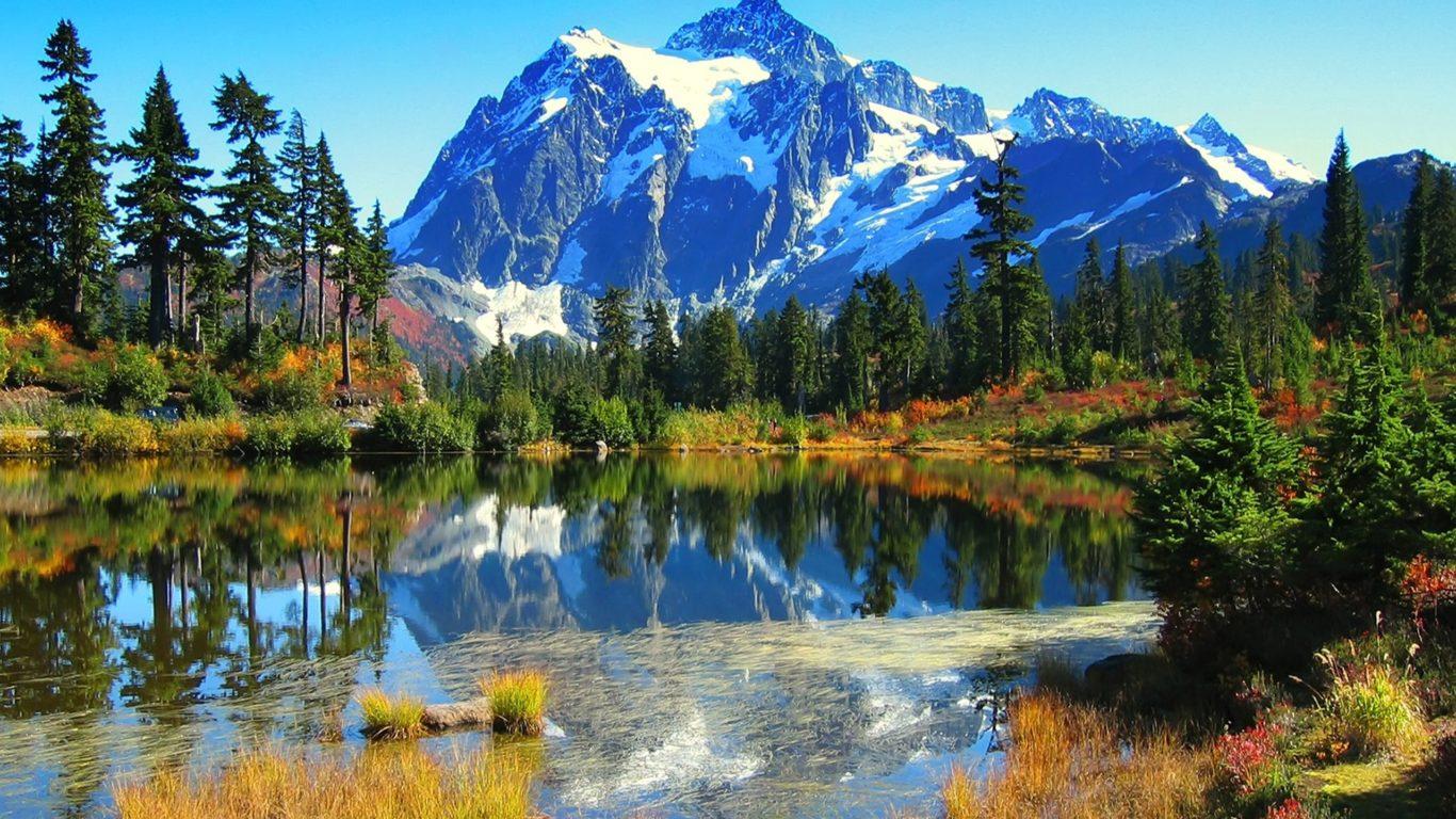 Fall Leaves Ipad Wallpaper Beautiful Lake Scenery Wallpaper Download Beautiful