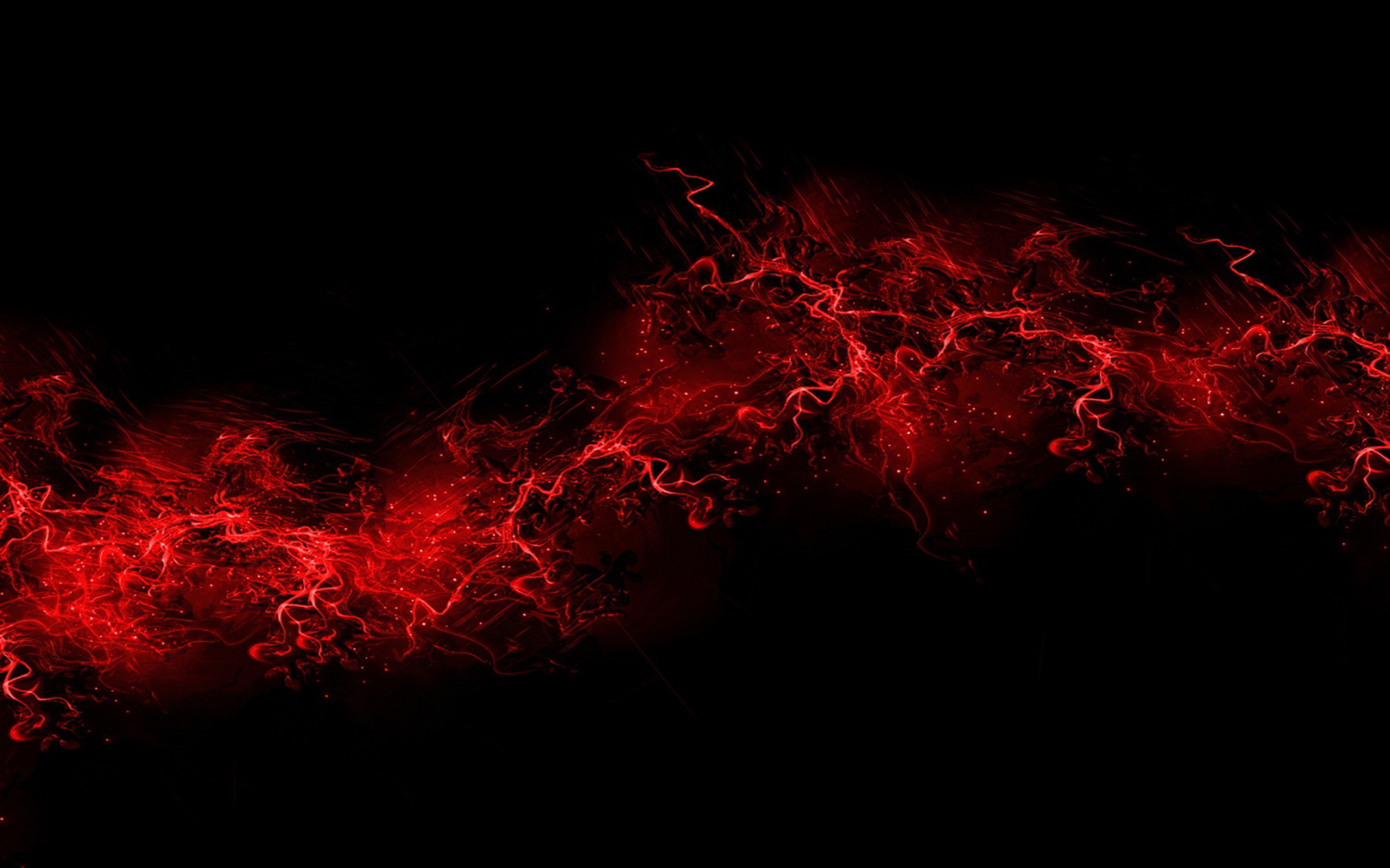 3d Sky Wallpapers Free Download Black Background Red Color Paint Explosion Burst 746