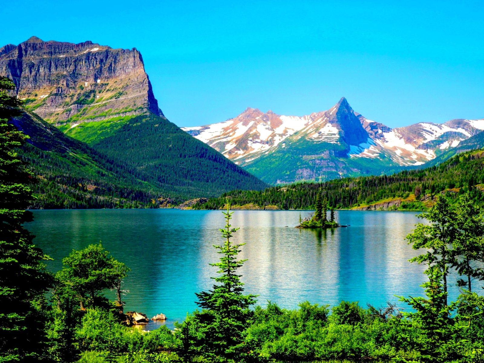 Fall Tablet Wallpaper Glacier National Park Desktop Background 576217