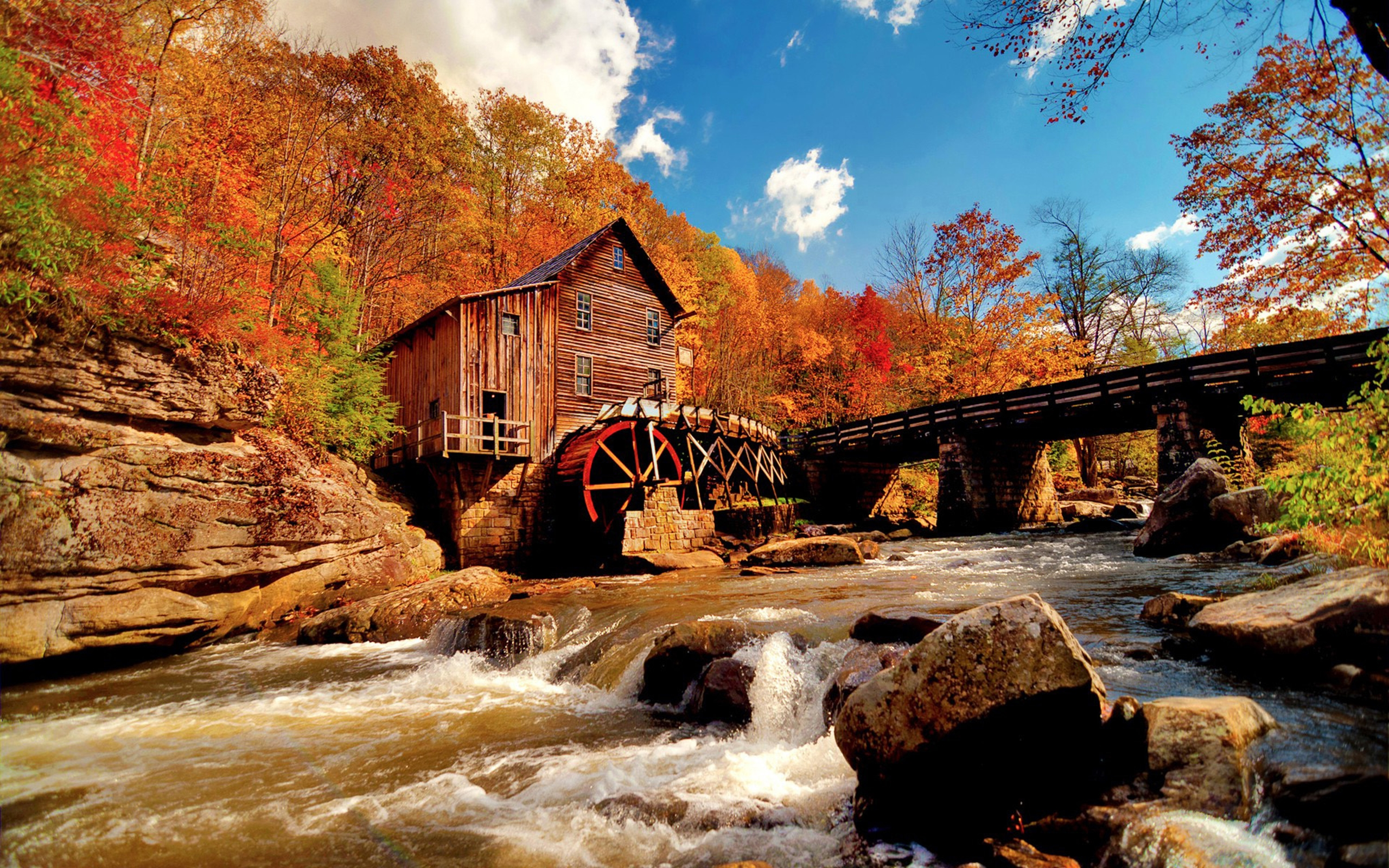 New England Fall Themed Wallpaper Mill Wide Wallpaper 493861 Wallpapers13 Com