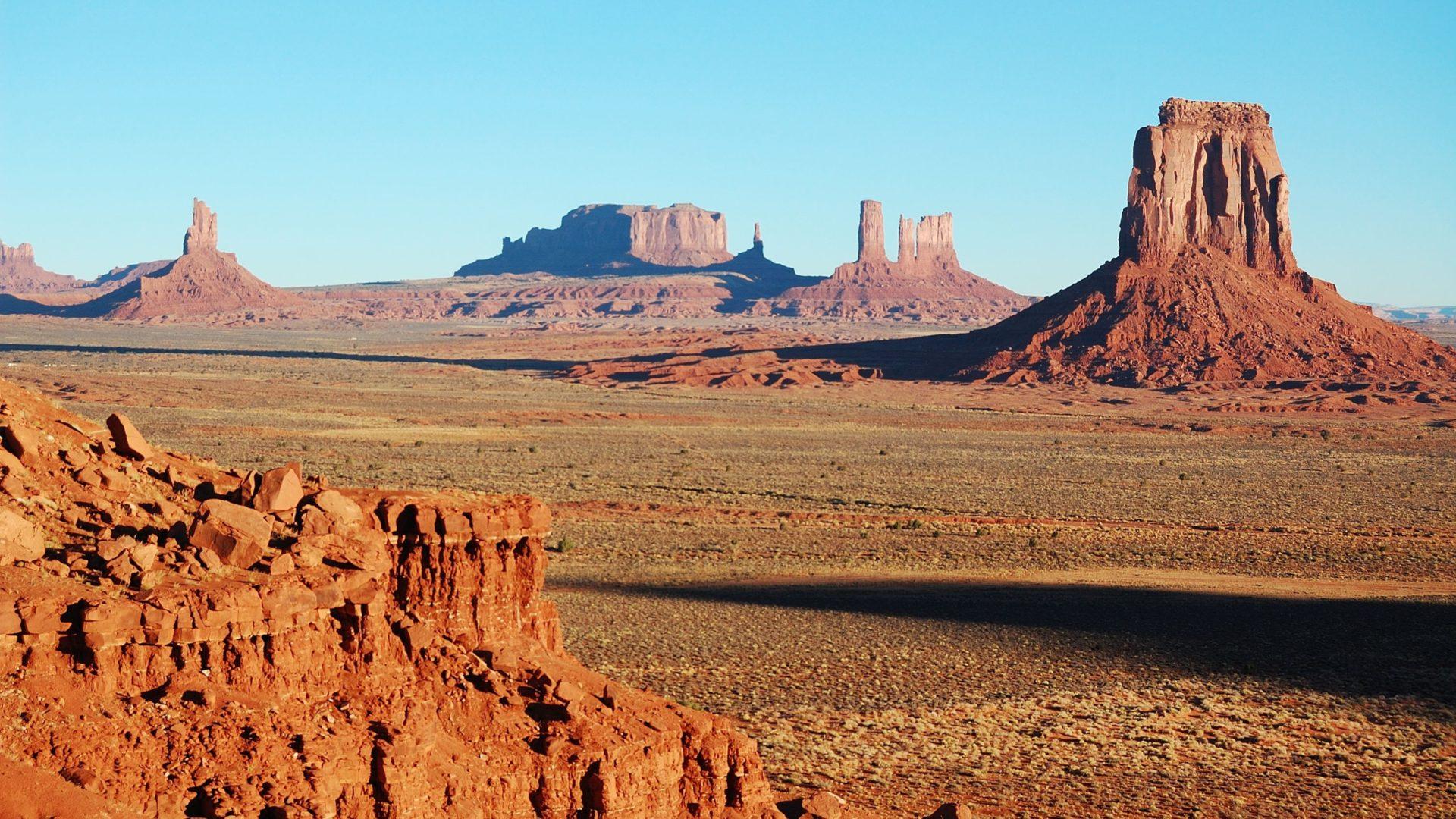Free Fall Wallpaper For Ipad 2 Monument Valley Panorama Navajo Nation 4352379
