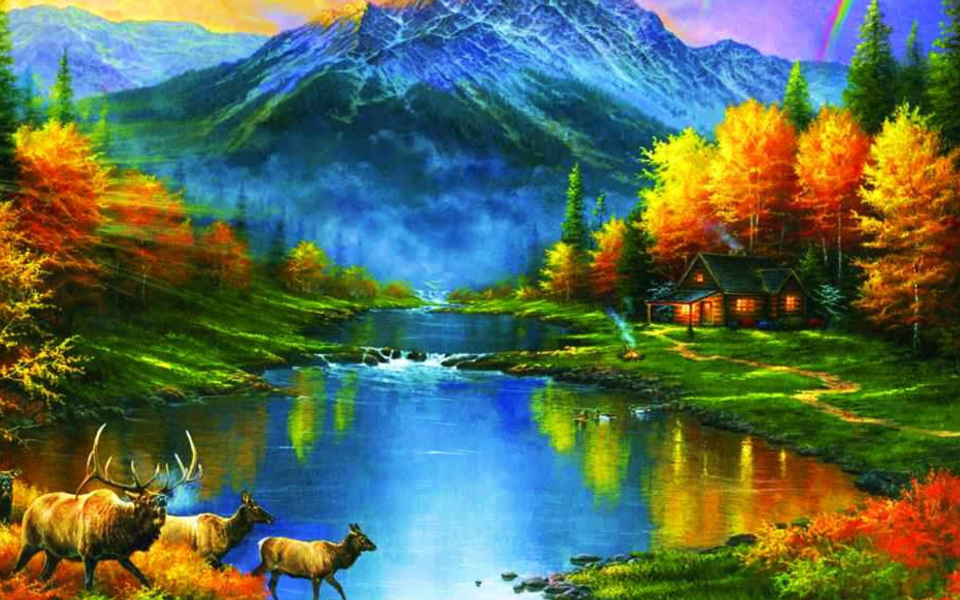 Stunning Fall Wallpapers Mountains At Fall Trees Leaves Lakes Colors Ultra Hd