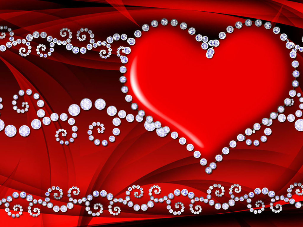Beautiful Cars Wallpapers For Pc Red Love Heart Hd Wallpaper 086 Wallpapers13 Com