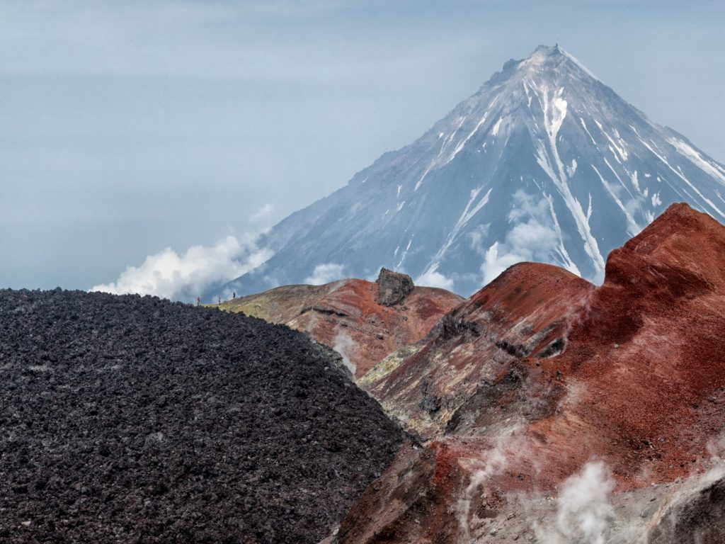 Stunning Fall Wallpapers Russia Mountains Kamchatka Volcano Nature 411608