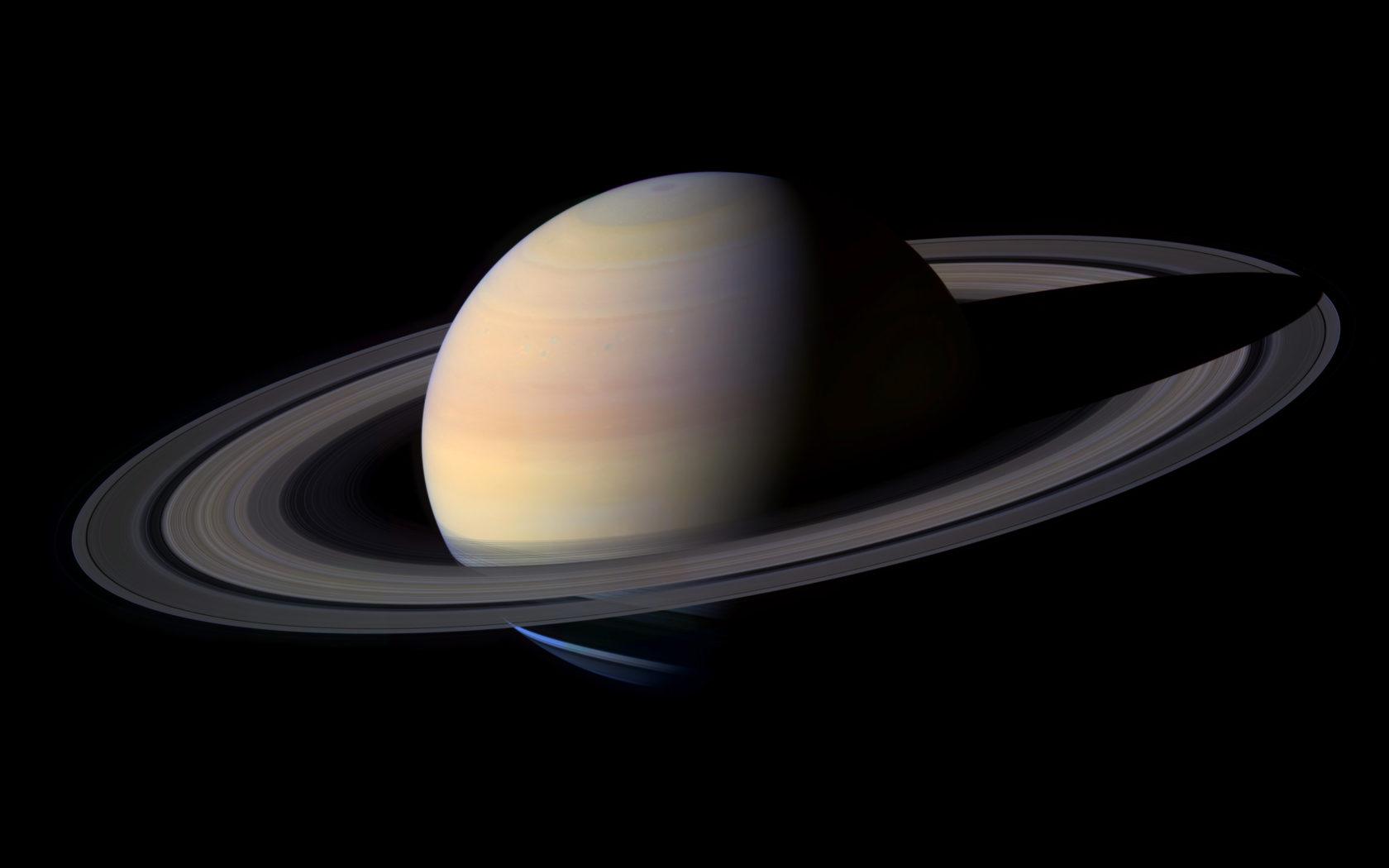 Futuristic Iphone X Wallpaper Saturn Planet With Rings Desktop Wallpaper Wallpapers13 Com