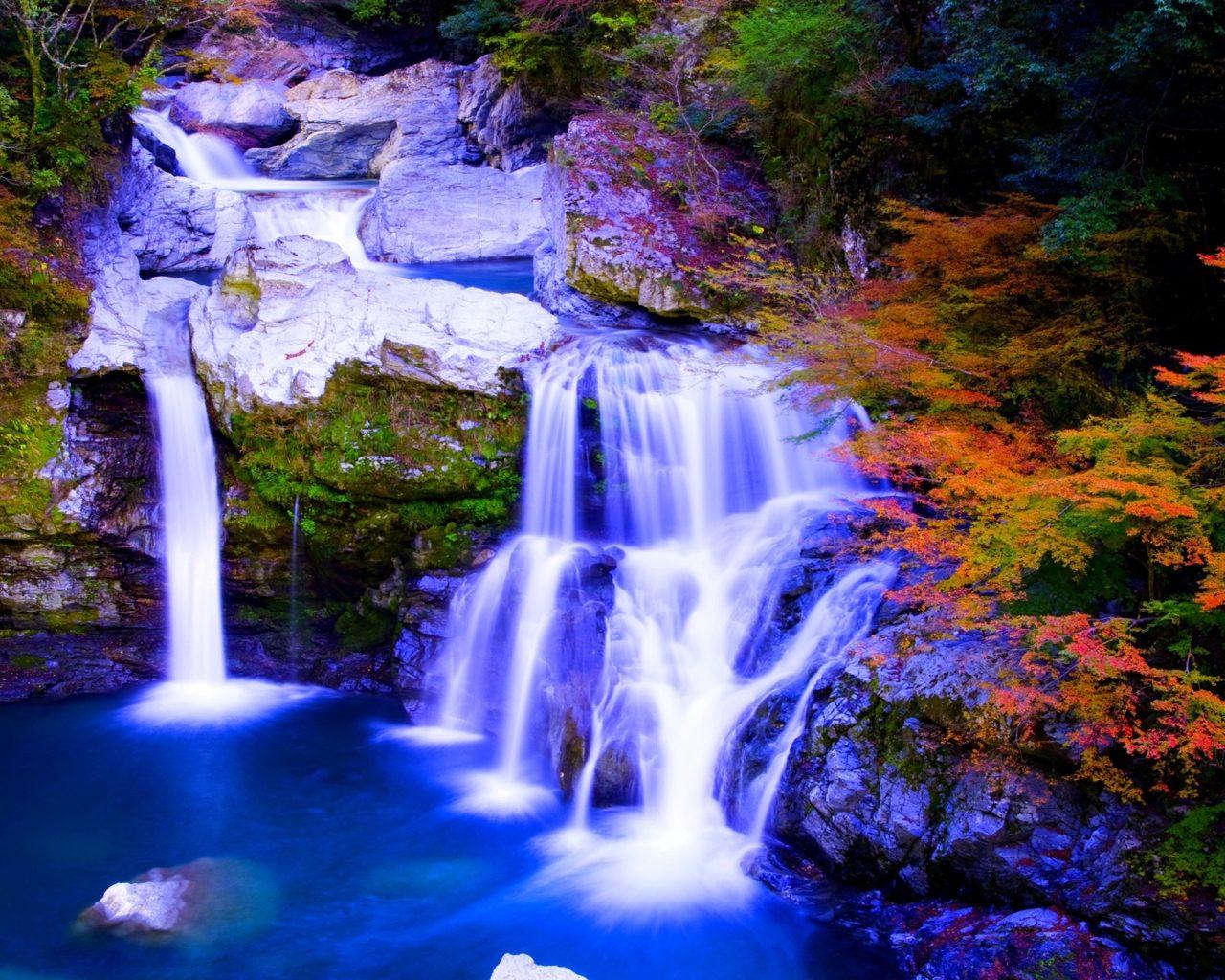Free Desktop Wallpaper Niagara Falls Autumn Paradise Nature Foreset Waterfalls Hd Wallpaper