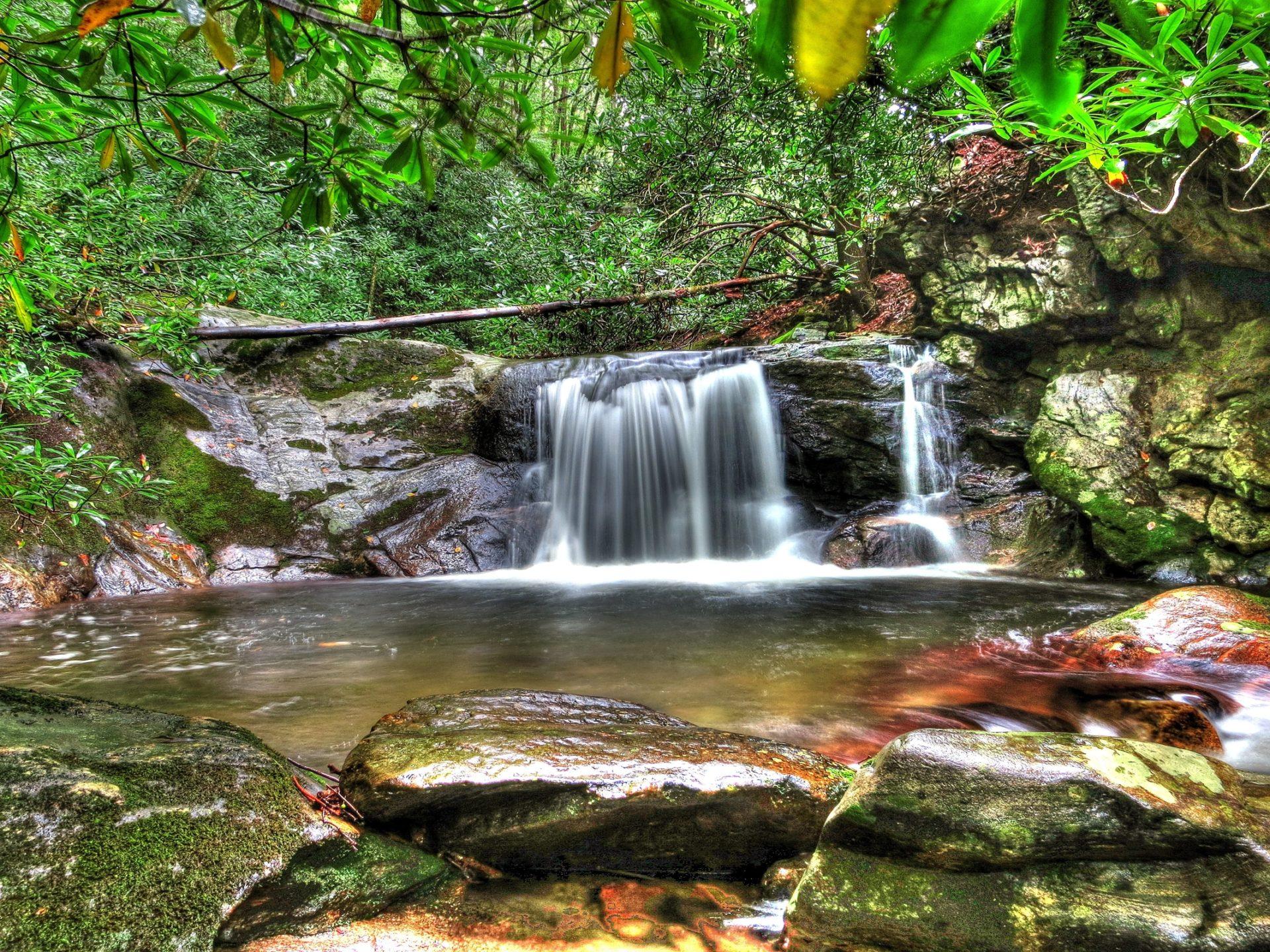 Iguazu Falls Wallpaper Forest Waterfall Desktop Background Hd Wallpapers 06739