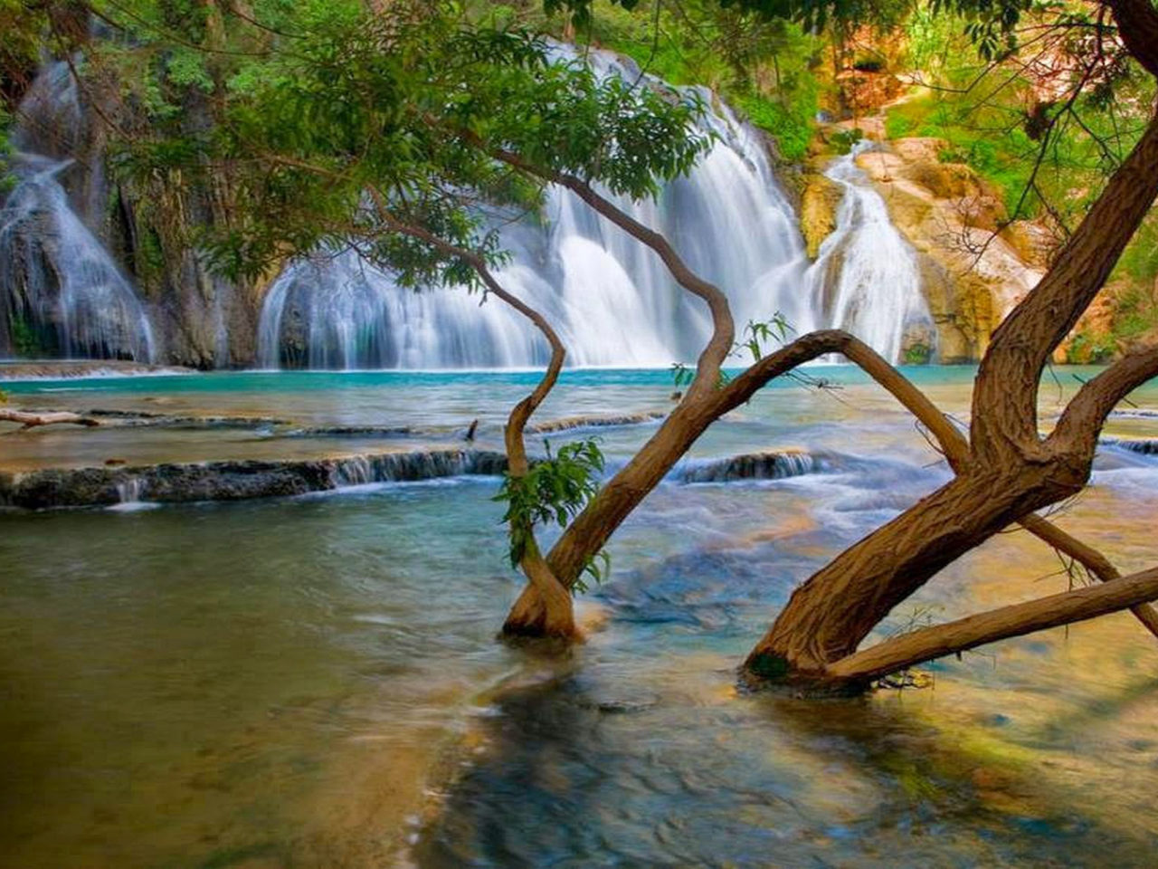 Havasu Falls Wallpaper Havasu Falls Wallpapers 5784 Wallpapers13 Com