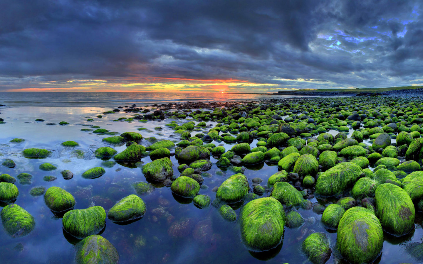 Wallpapers Cars Disney Hd Iceland Wallpaper Hd Mossy Rocks Sunset Beach Nature