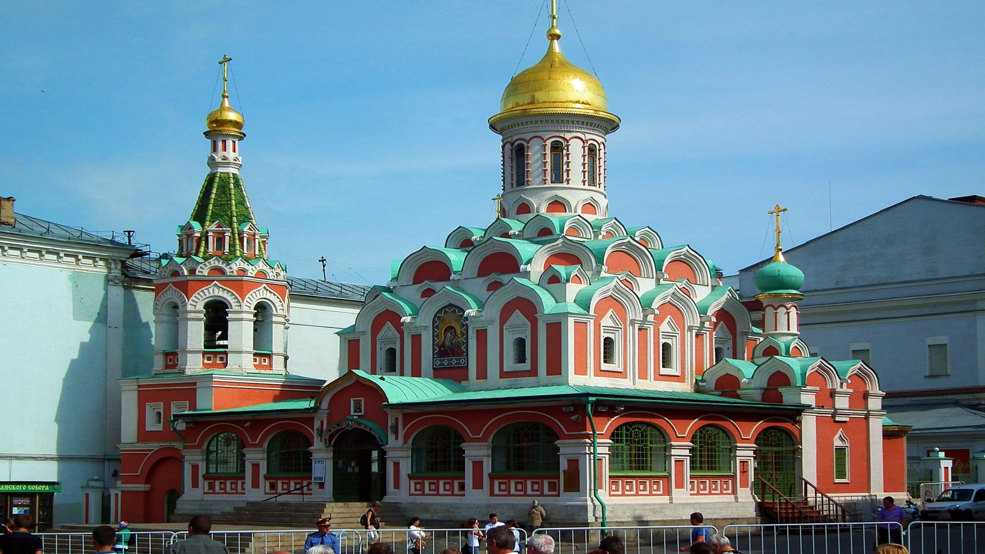 Nice Iphone 5 Wallpapers Kazan Cathedral Moscow 76449657 Wallpapers13 Com