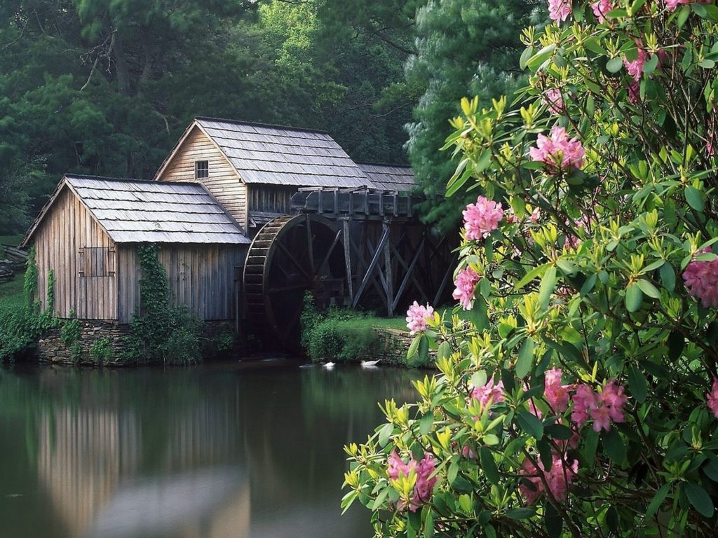 Moving Fall Wallpapers For Windows 10 Lovely Grist Mill 295512 Wallpapers13 Com