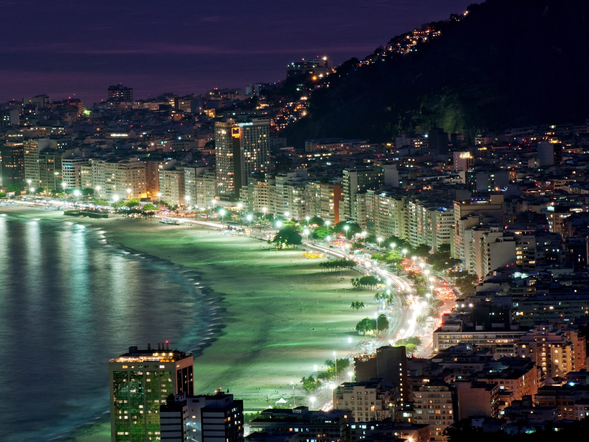 Iphone 5 Hd Wallpapers Cars Rio De Janeiro At Night 7976954 Wallpapers13 Com