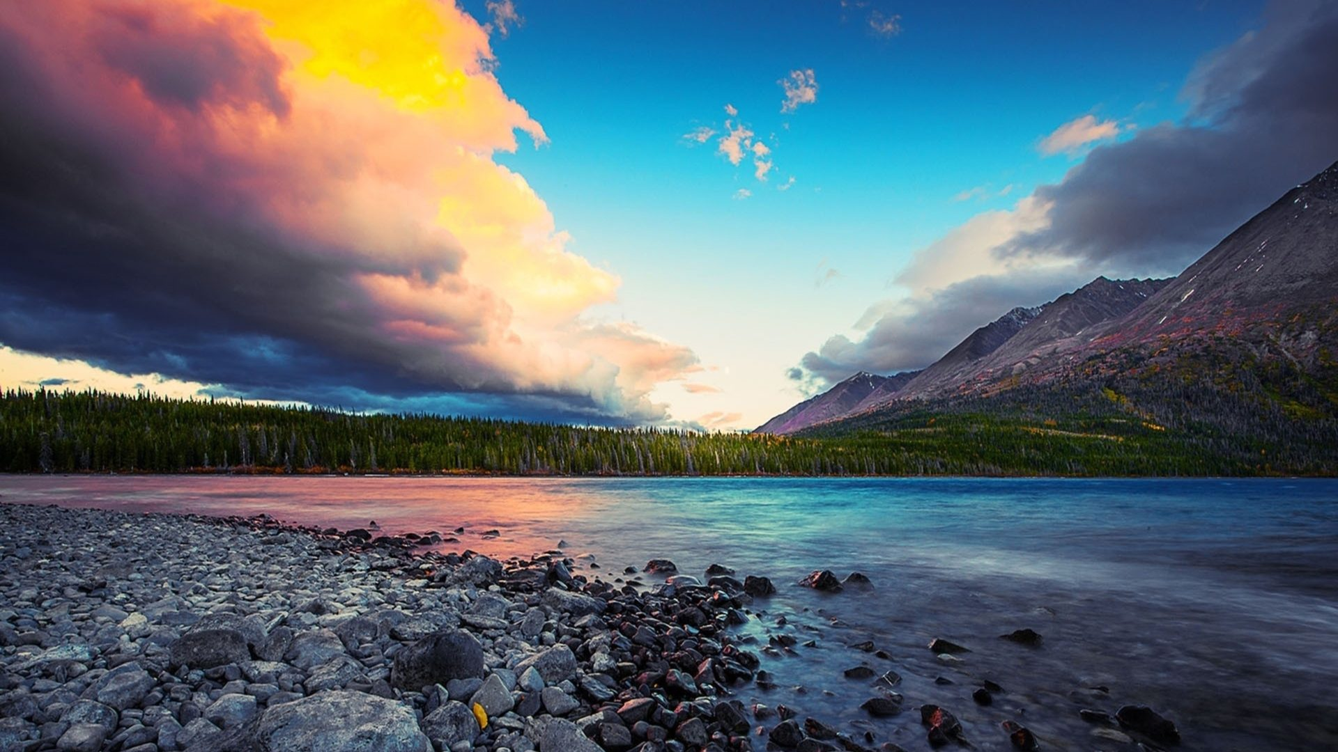 Superb Wallpapers Hd Superb Sky Over Beautiful Lscape Hd Wallpaper 600994