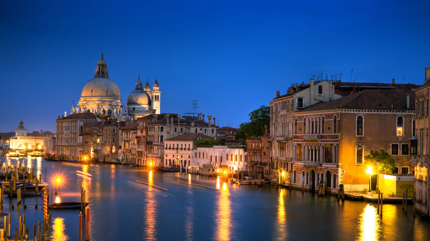 Statue Of Liberty Wallpaper Iphone Venice Italy The Grand Canal Architecture 3840x1080 Hd