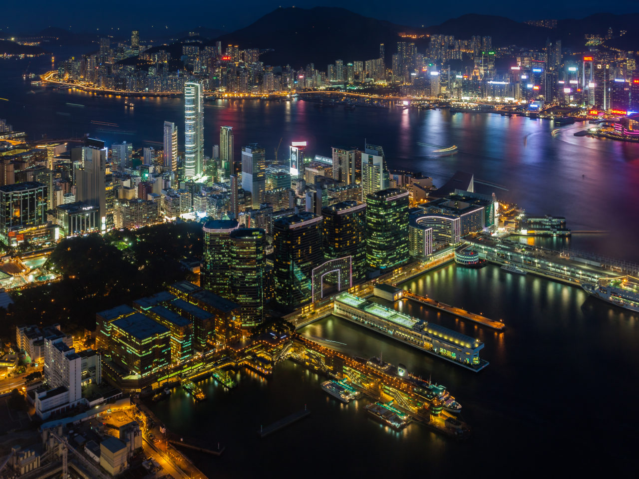 Old Wallpaper Iphone X Victoria Harbour From Hong Kong Hd Wallpapers