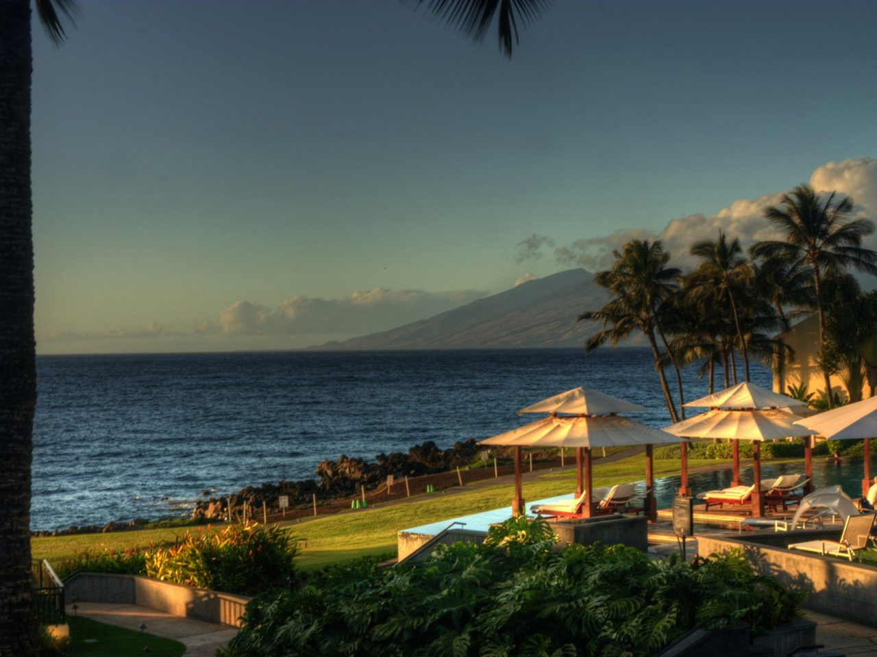 Hawaii Desktop Wallpaper Hd Wailea Maui Hawaii Desktop Background 560636