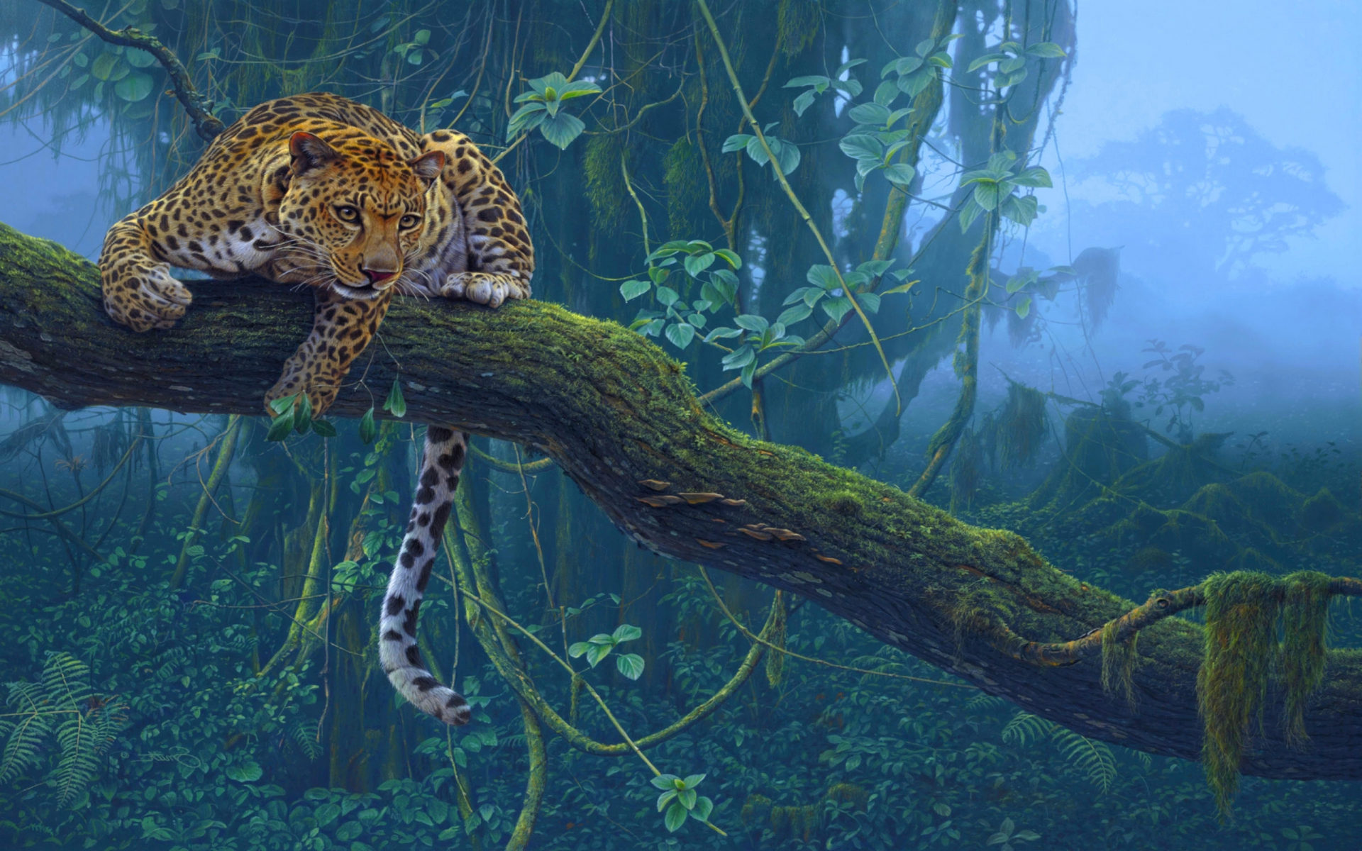 Iphone X Wallpaper 4k Live Animals Jungle Leopard On Branch Hd Wallpaper 3840x2400