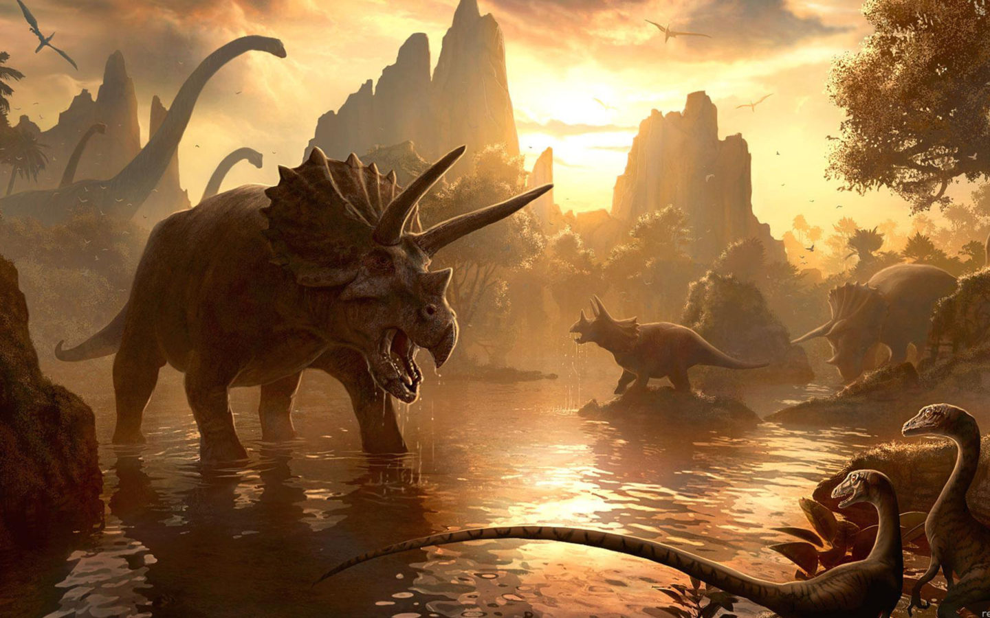 Free Download 3d Wallpaper For Android Tablet Animals Of The Past Ancient World Of Dinosaurs Desktop Hd