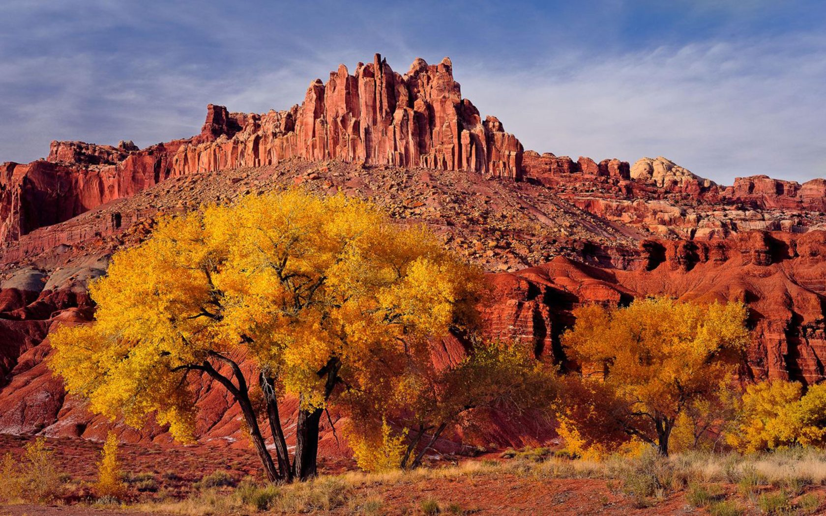Fall Scenery Hd Wallpaper Autumn Landscape National Park In Utah Caters Usa