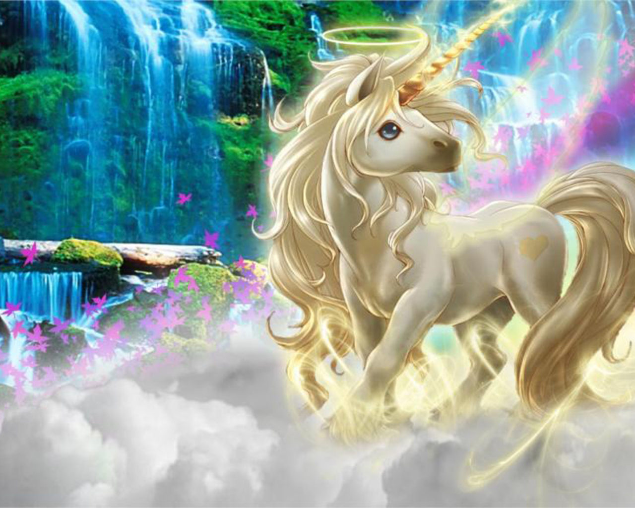 Free Download 3d Live Wallpapers For Android Tablet Beautiful 3d Picture Unicorn Silk Clouds Rainbow Wallpaper