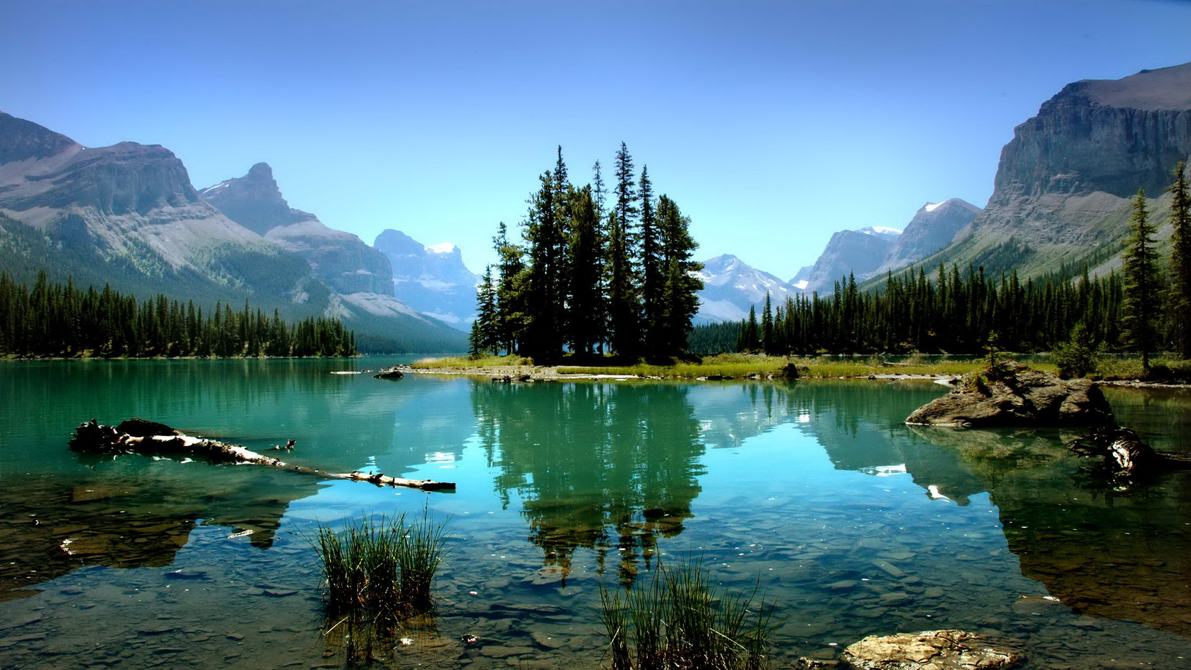 Full Hd Cars Wallpapers For Android Canada Spirit Island Jasper National Park Nature Wallpaper