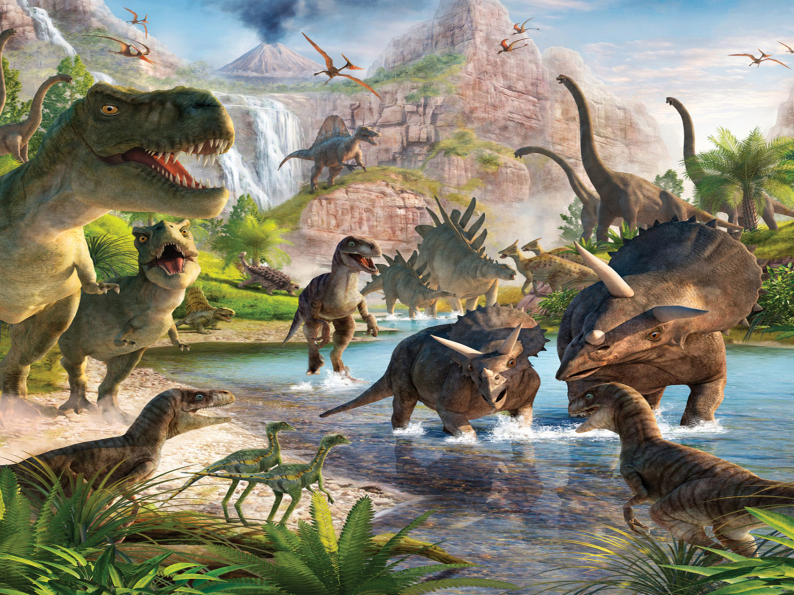 3d Wallpapers For Pc Full Screen Free Download Dinosaurs Wallpapers For Desktop 11686 Full Hd Wallpaper