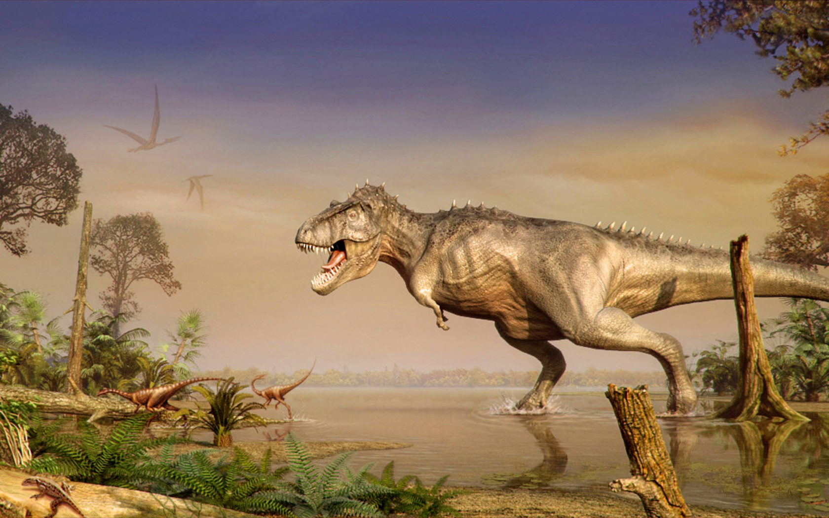 Dinosaur 3d Live Wallpaper Dinosaurs World Of Animals From The Past Hd Wallpaper