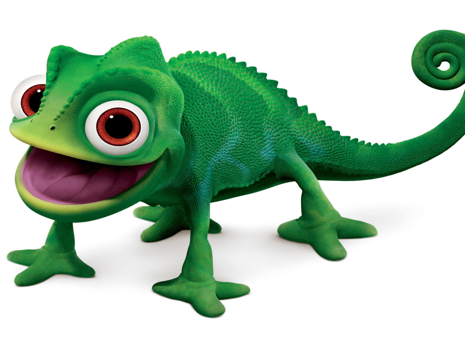 New Cute Girl Wallpaper Download Green Chameleon Animal Toy Long Tongue Wallpapers