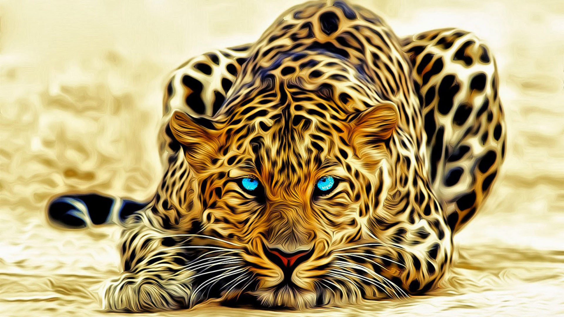 Beautiful Cars Wallpapers For Pc Leopard Art Abstract 3d Wallpaper Hd 3840x2400