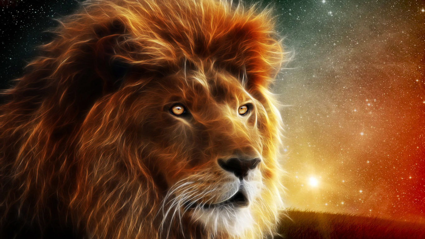 Lion Hd Wallpapers For Iphone Lion Wallpaper Hd Digital Art Animal Wallpapers13 Com