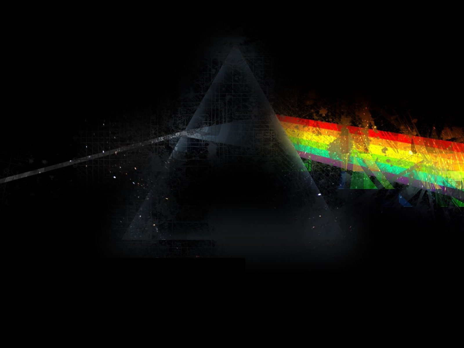 The Cars Disney Wallpaper Wallpaper Pink Floyd Triangle Rainbow Graphics