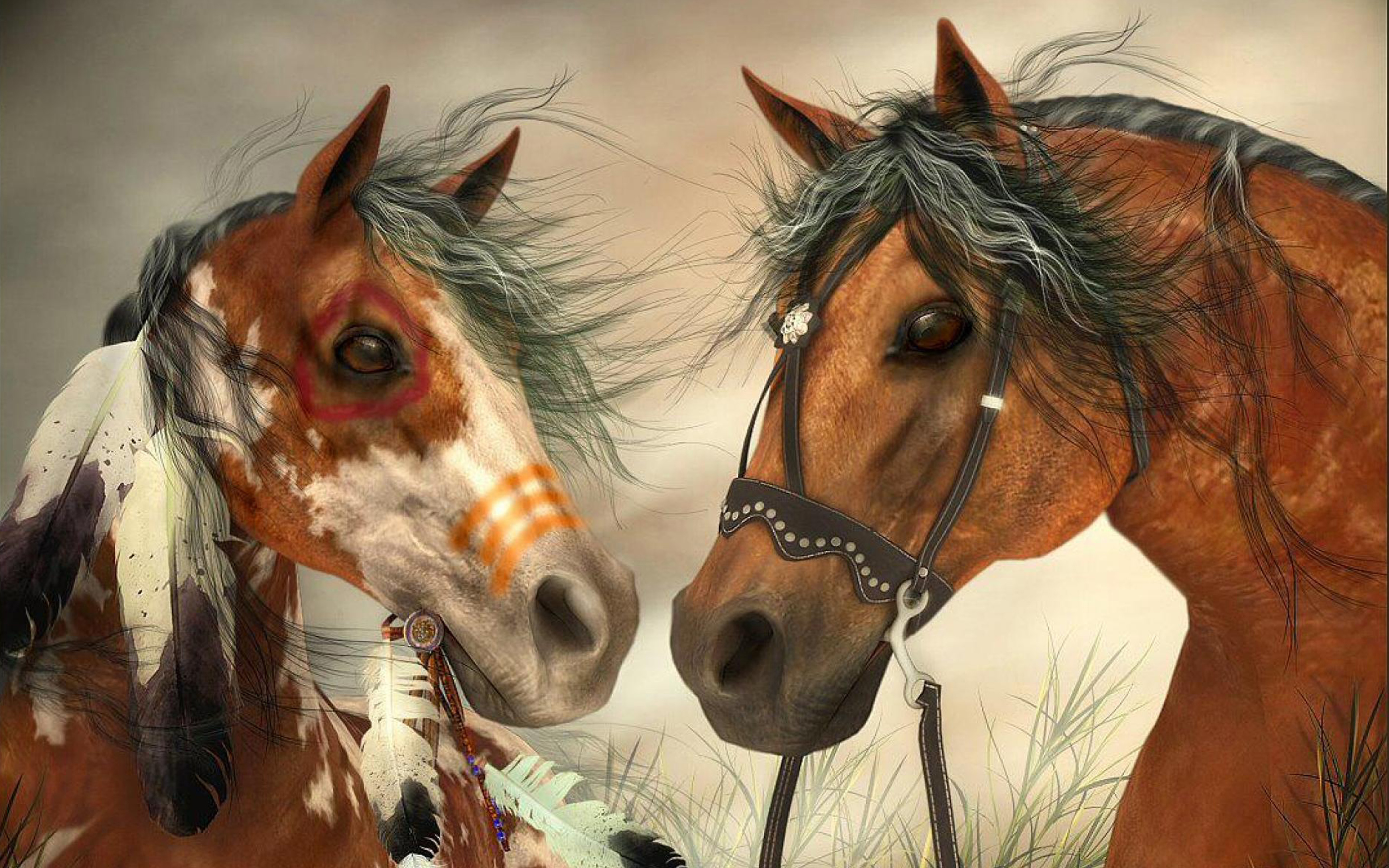 Free 3d Dinosaur Wallpaper War Horse Indians And War Horse Of The Cowboys Hd