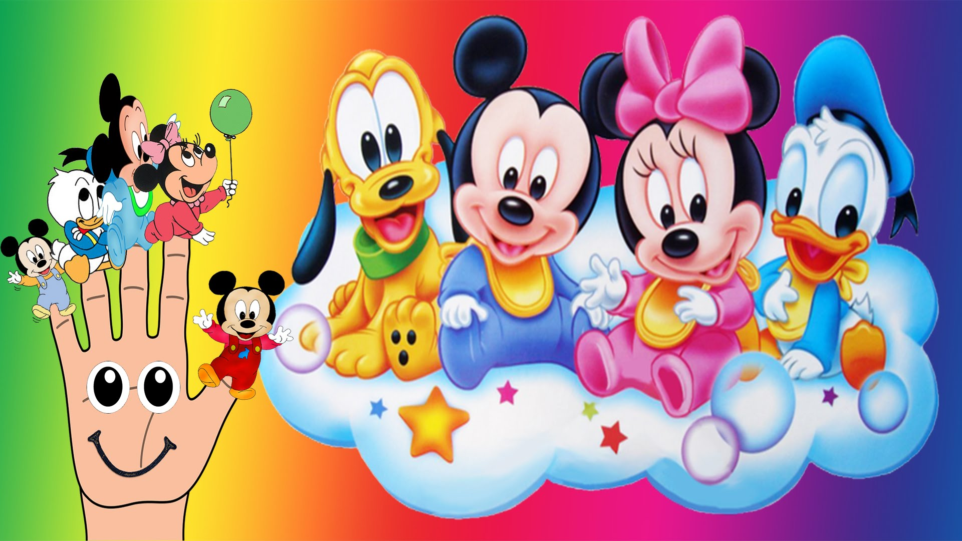 Hd Cars Wallpaper Iphone Adorable Baby Mickey Mouse Pluto Minnie Donald Duck