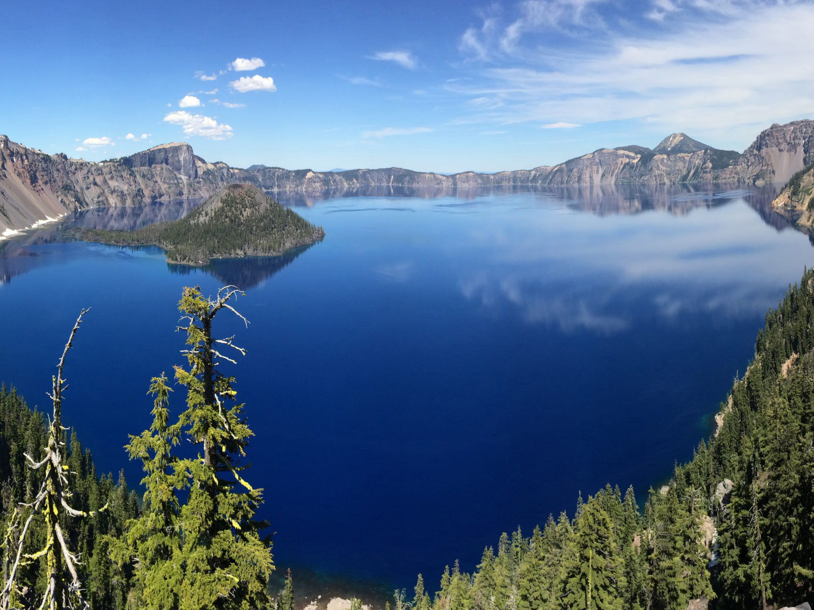1024x768 Hd Wallpapers Free Download Crater Lake National Park Oregon Desktop Hd Wallpaper For