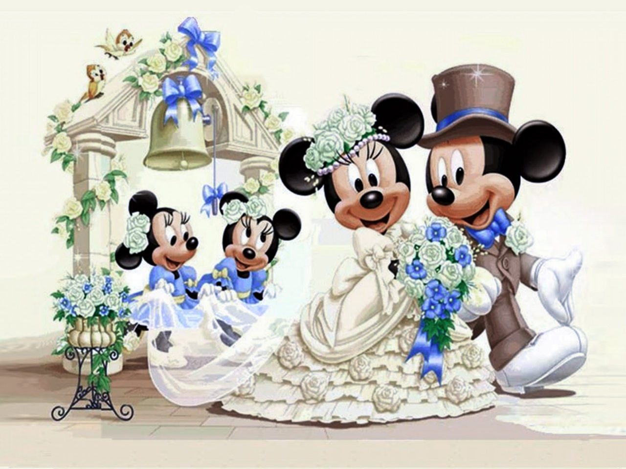Cars Wallpaper Gif Mickey Mouse And Minnie Mouse Wedding Wallpaper Hd