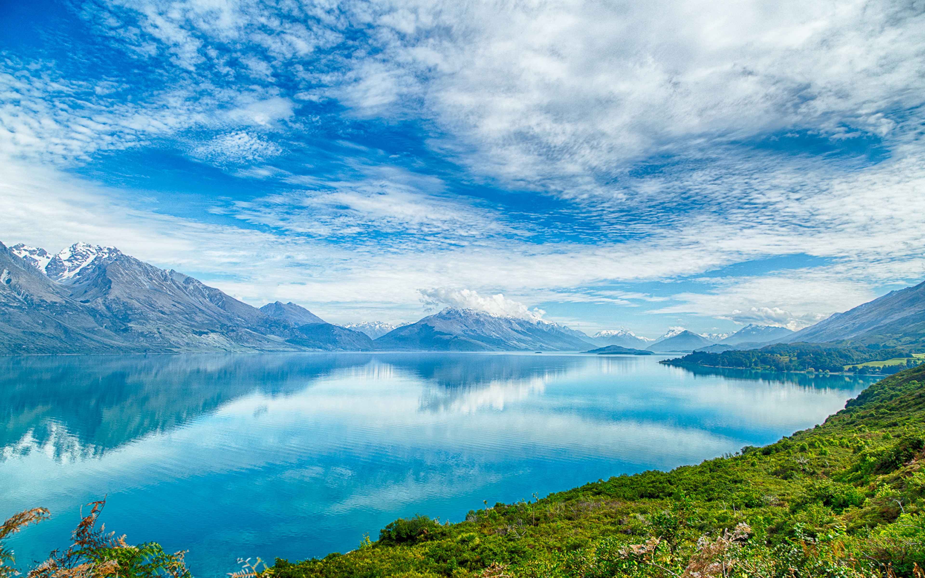 Dota 2 Wallpaper Hd For Pc New Zealand Lake Pukaki Heavenly Blue Water Blue Sky And