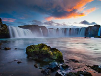Beautiful Landscape Wallpaper Hd Resolution Waterfalls In Iceland : Wallpapers13.com