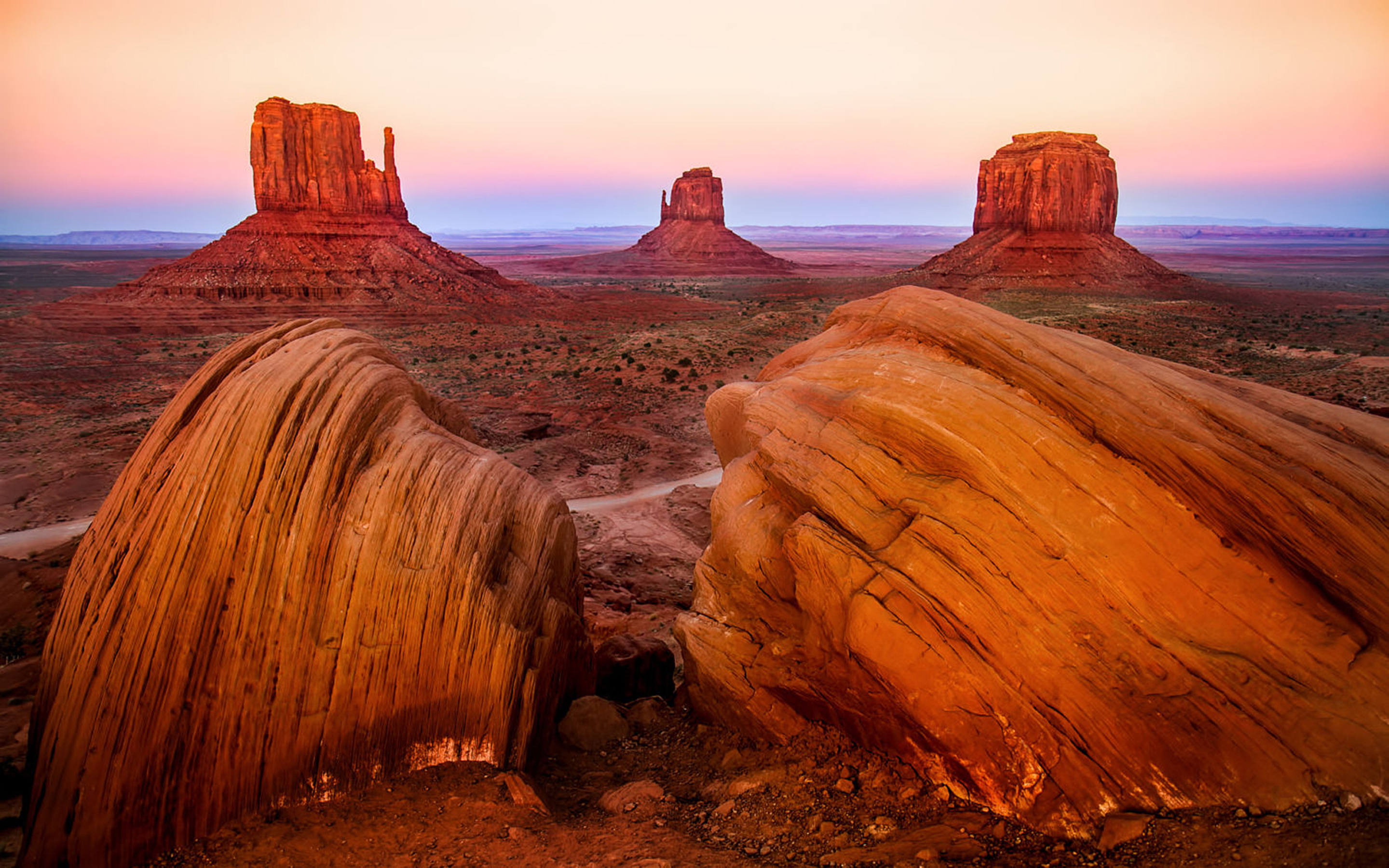 Fall Flowers Wallpaper Desktop Monument Valley National Park Figures Of Rock Vaarsko Of