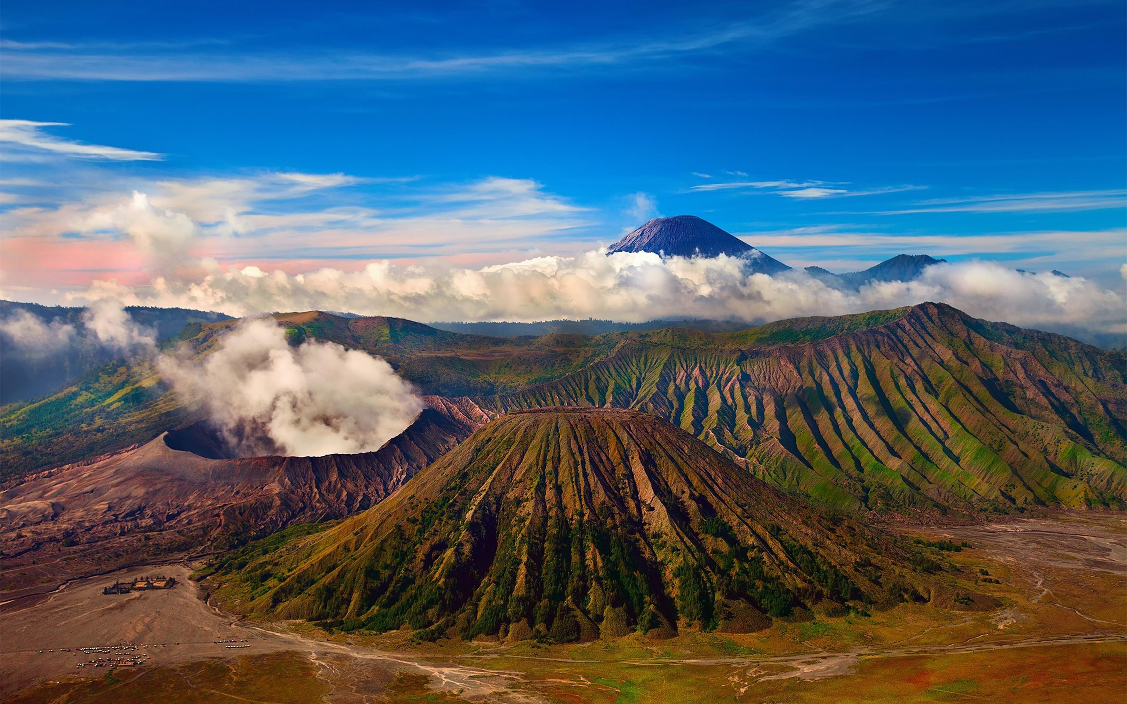 Ipad Hd Wallpapers 1080p Mount Bromo Active Volcano Tengger Massif In East Java