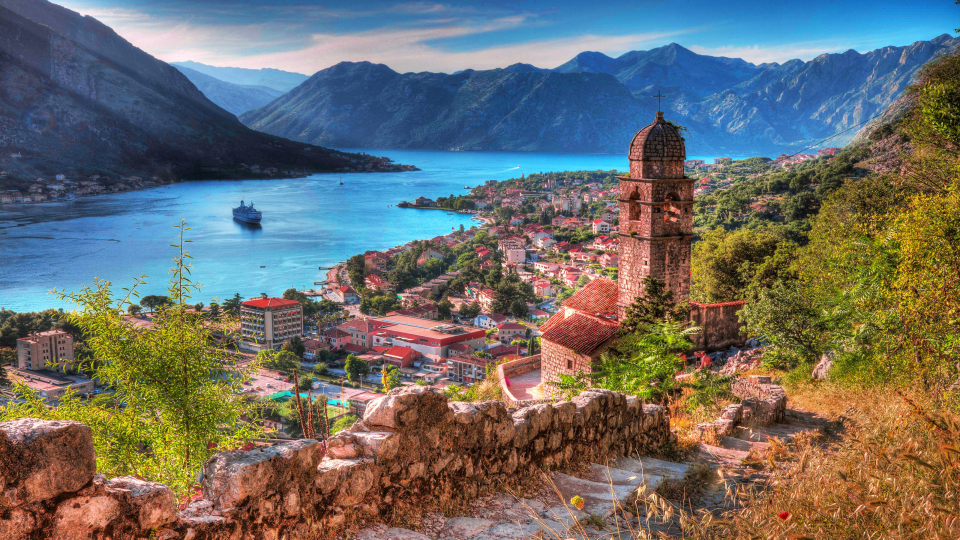 Seoul Wallpaper Iphone The Town Of Kotor In Montenegro Nice Old Town 2560x1600