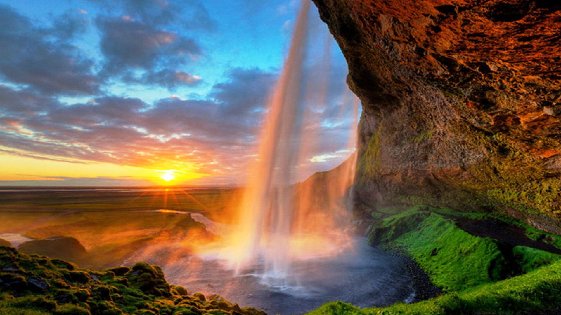Angel Falls Wallpaper Seljalandsfoss Is One Of The Most Famous Waterfalls In